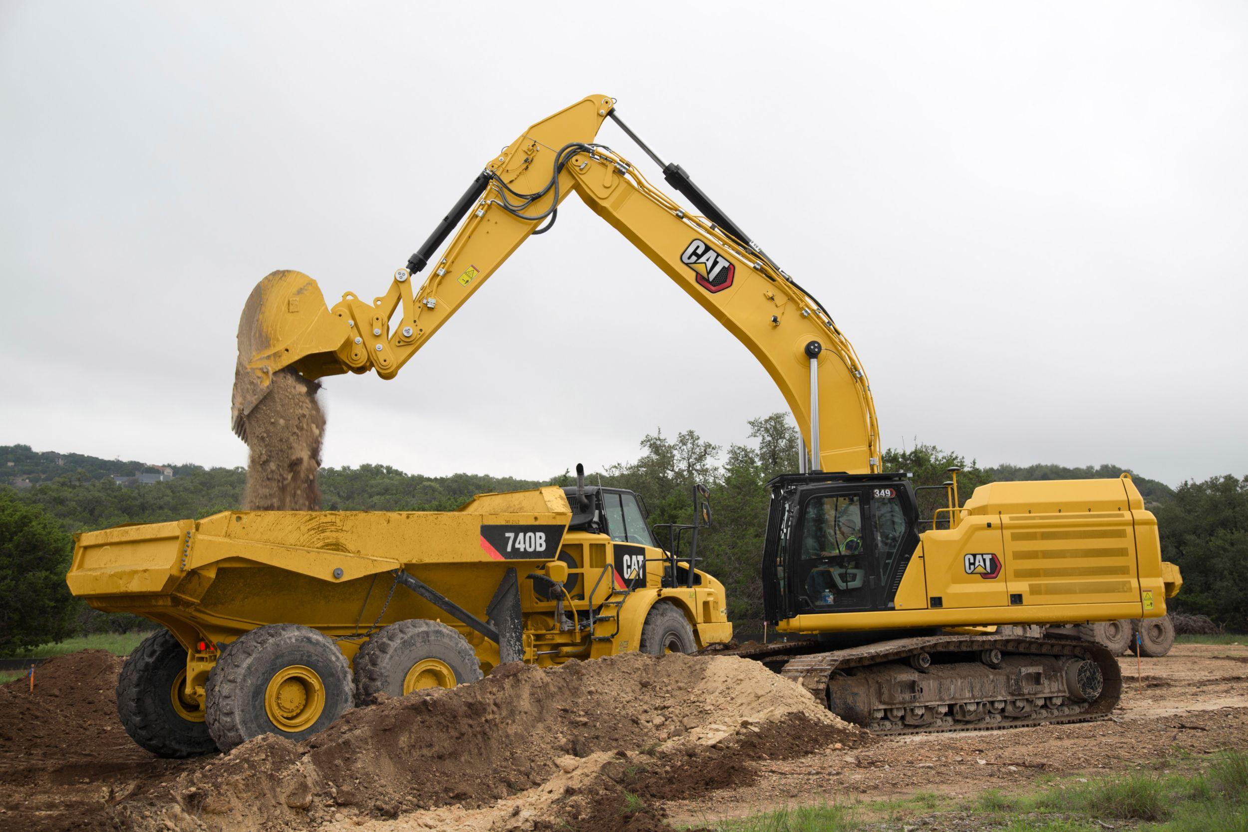 349 Excavator