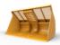 Woodchip Bucket 11.9 m³ (15.5 yd³)