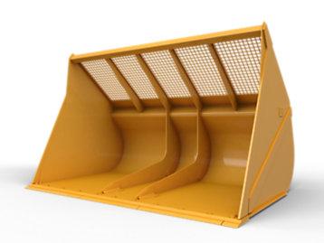 Woodchip Bucket 9.9 m³ (13 yd³)
