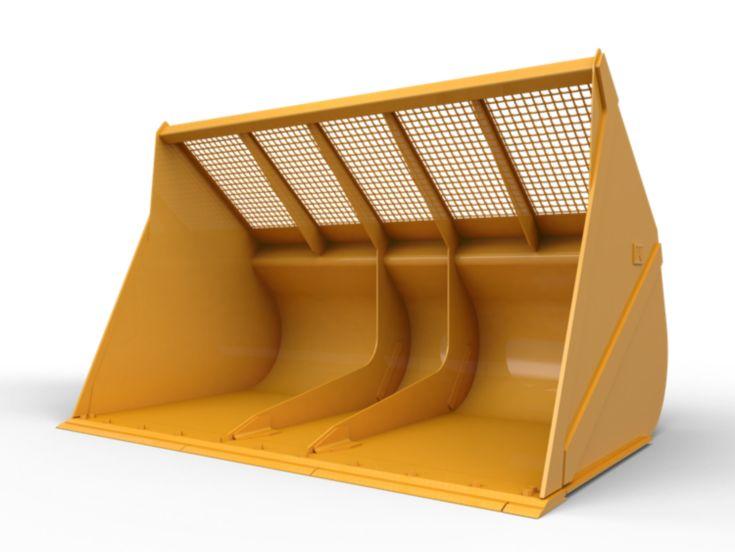 Buckets - Loader - Woodchip Bucket 9.9 m³ (13 yd³)