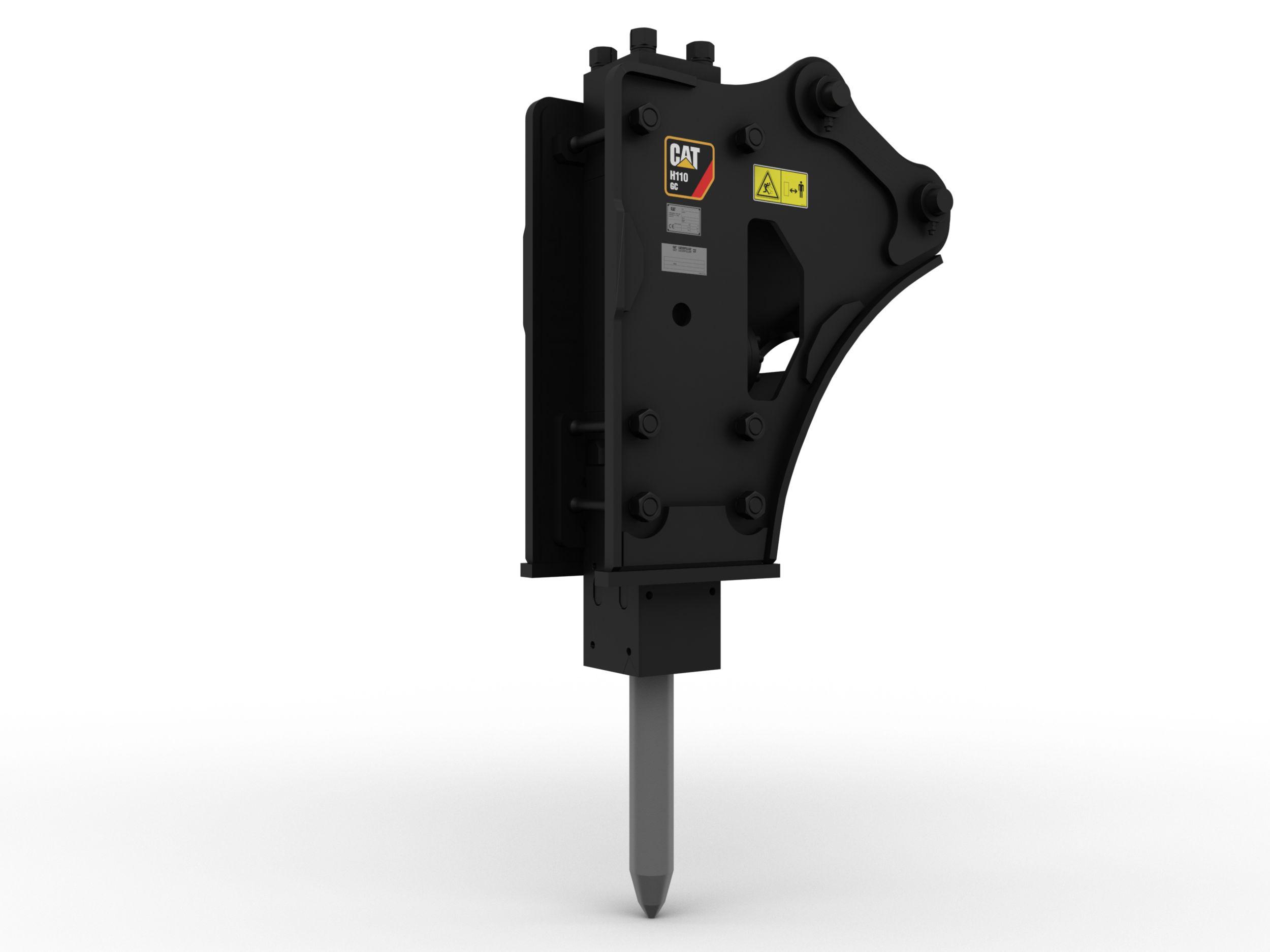 H110GC, side mount