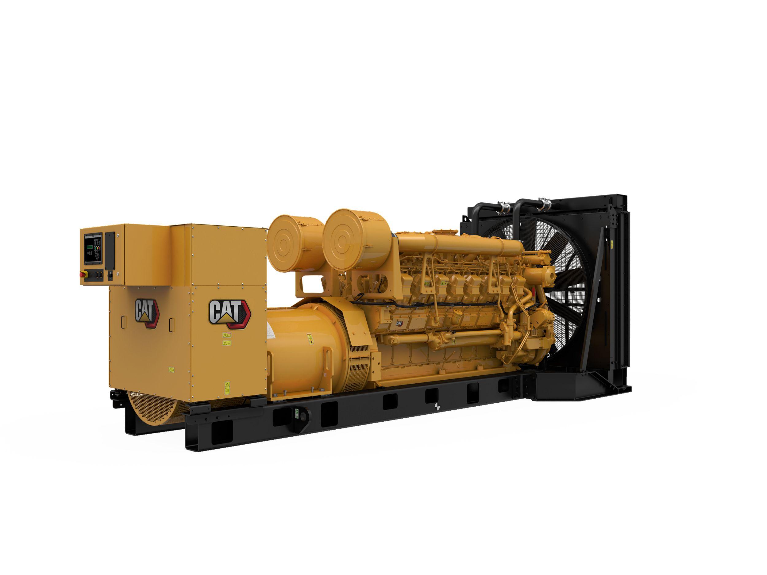 3516 (3516 MUI) Modular Rear Overhang Controls Generator Set, Rear Right