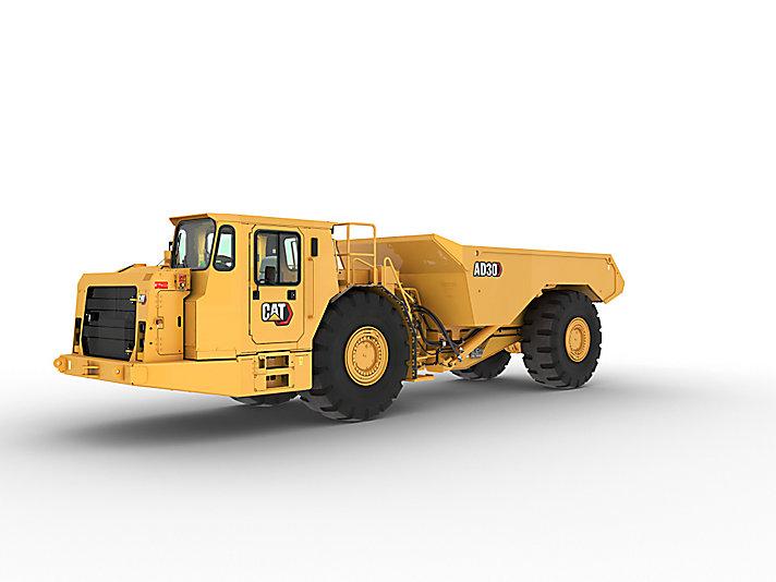 Cat | AD30 Underground Mining Truck | Caterpillar