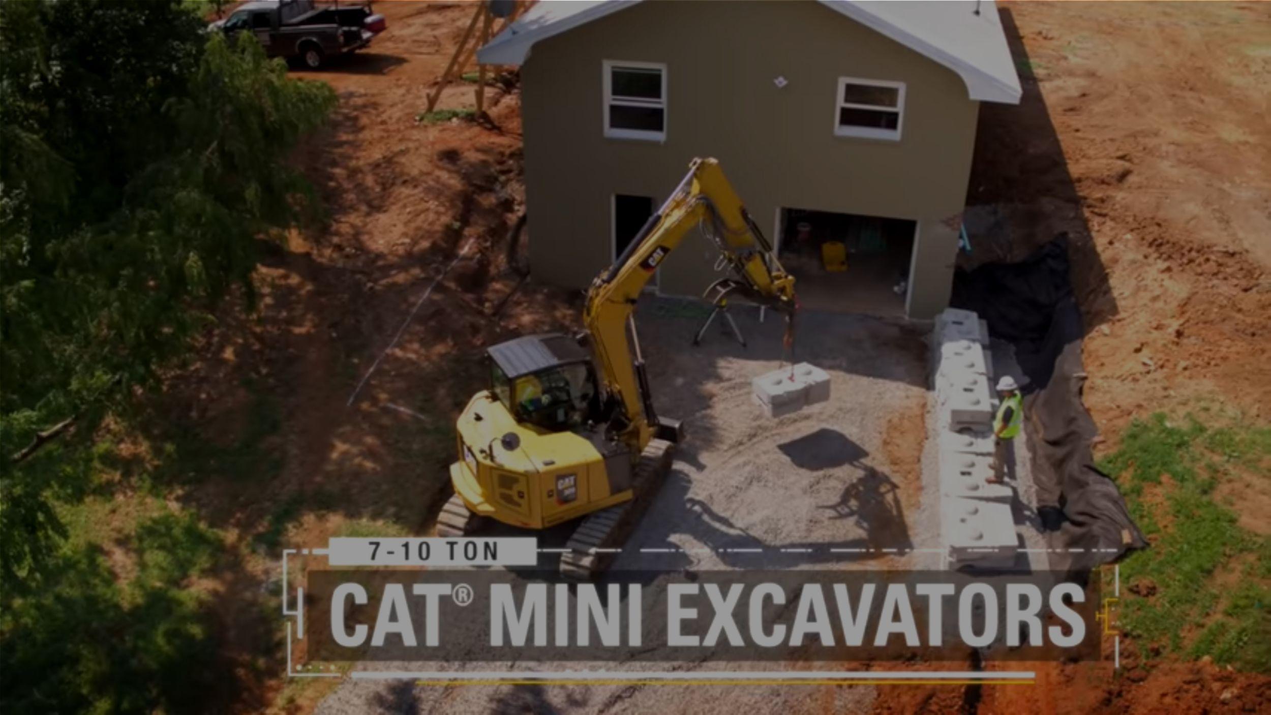 Cat Mini Excavators: 6-10 Ton