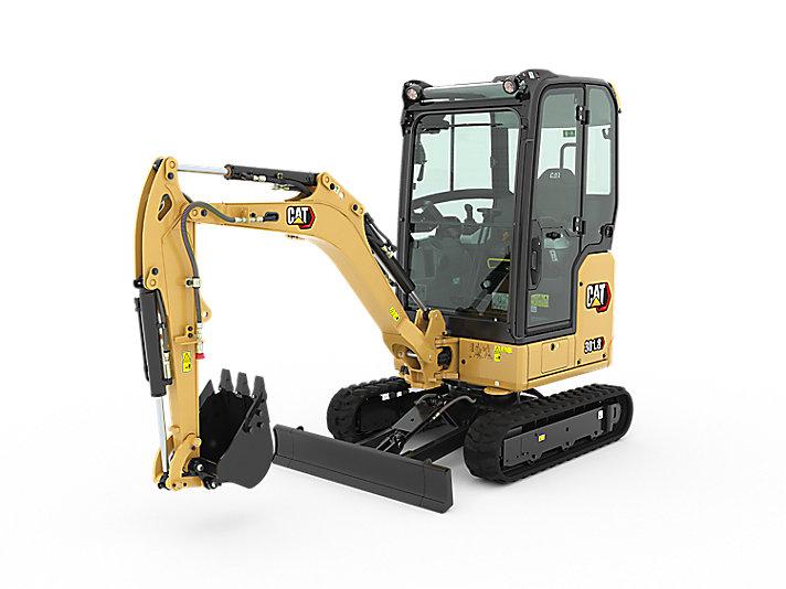 New 301.8 next gen mini excavator from £118.06 / week