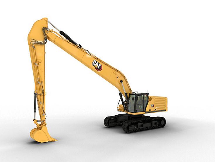 Excavators - 340 Long Reach