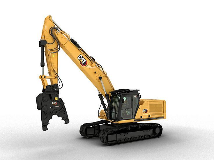 Excavators - 340 Straight Boom