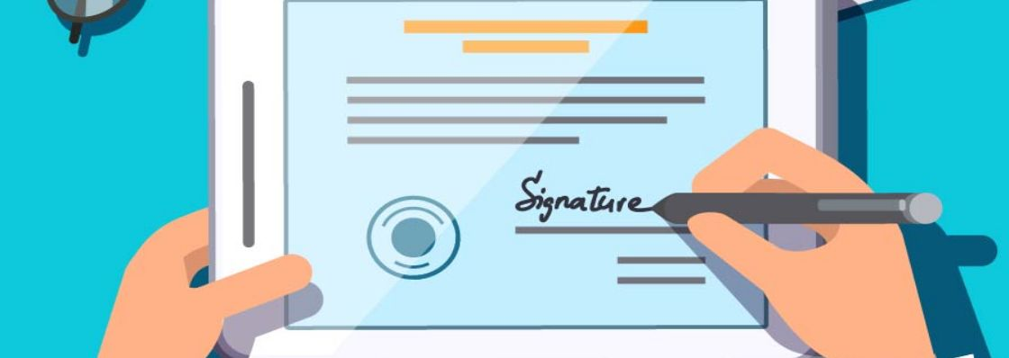 eSignature | Cat Financial electronic signature process