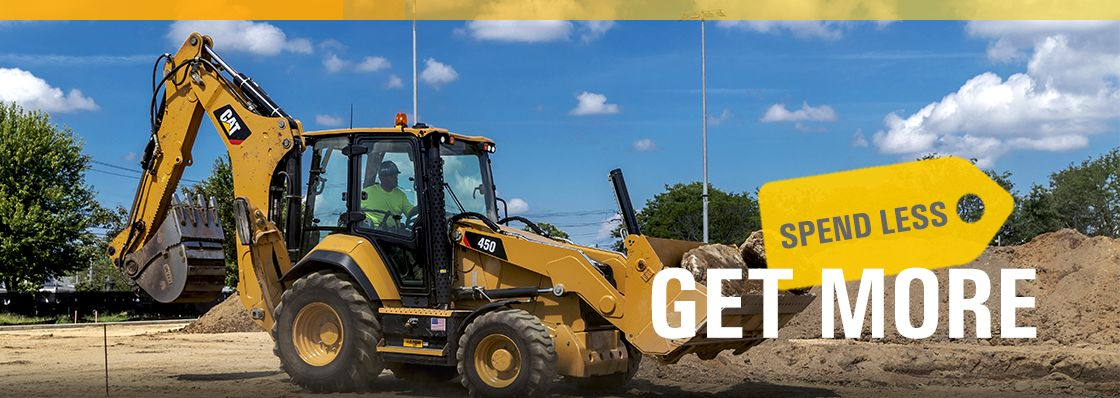 Zero Down Backhoe Offer | Cat Financial