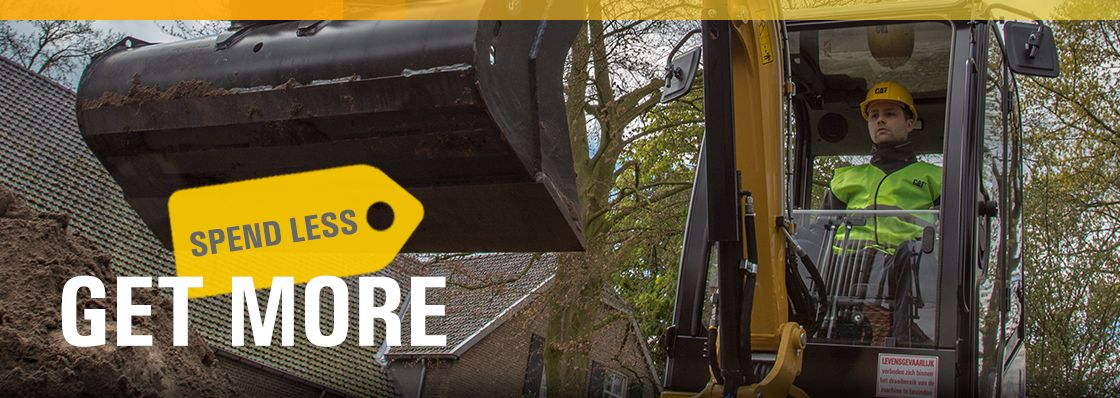 Spend Less, Get More | 0% for 48 Months on Mini Excavators
