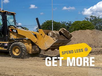 0% for 48 Months with Zero Down on a New Backhoe Loader