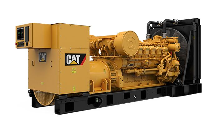 3512 MUI Modular Rear Overhang Generator Set (Rear Right)