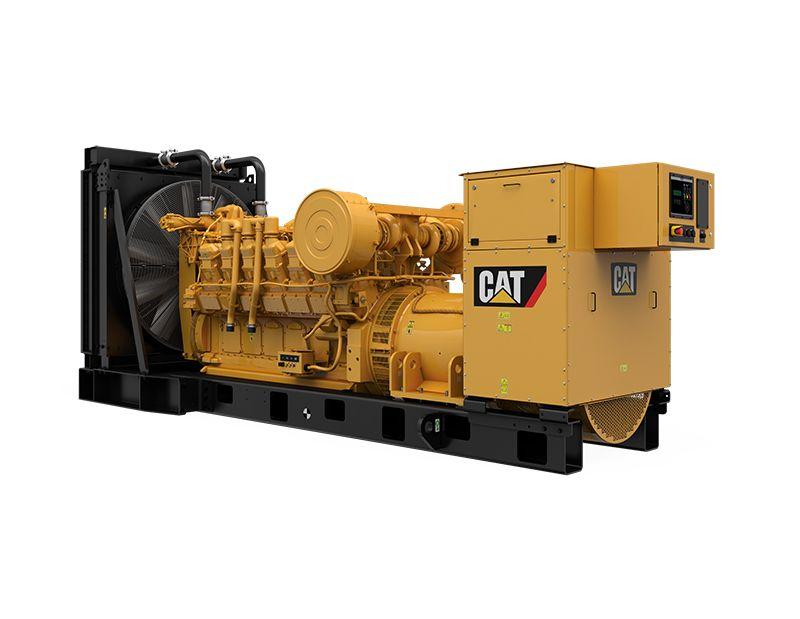 3512 MUI Modular Rear Overhang Generator Set (Rear Left)