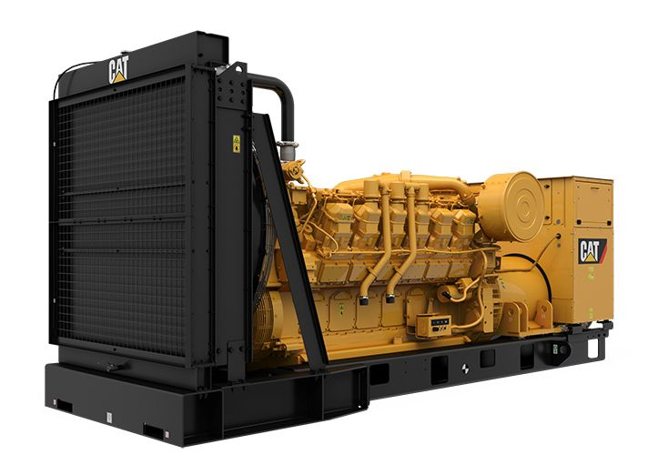 3512 MUI Modular Rear Overhang Generator Set (Front Left)