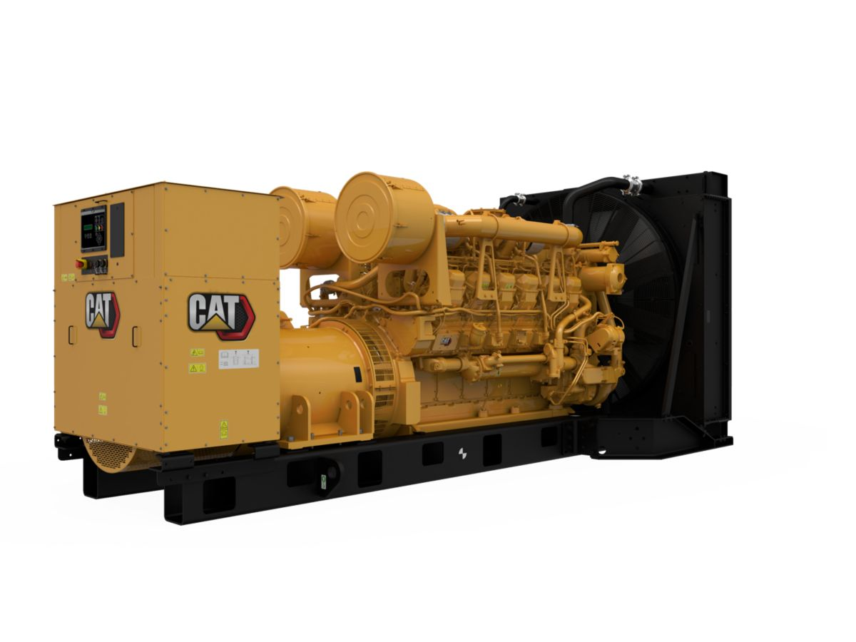 3512B  Diesel Generator Sets (Rear Right)