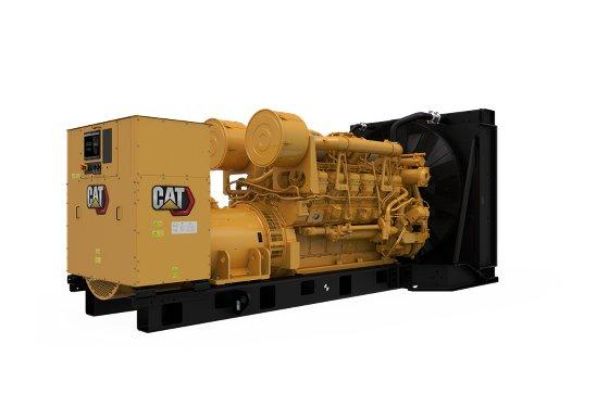 3512B (50 Hz) Generator Set, Diesel Generator Sets - Gough Cat