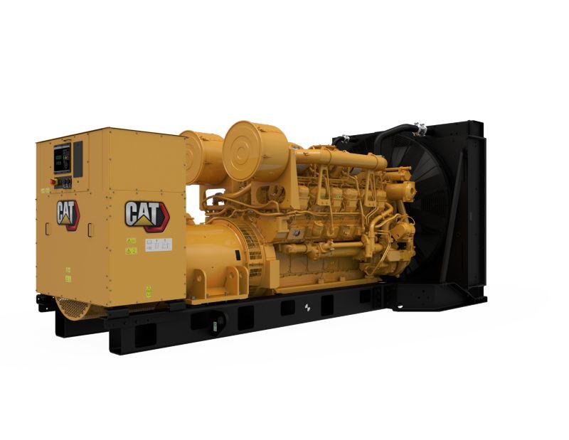3512B  Diesel Generator Sets (Rear Right)