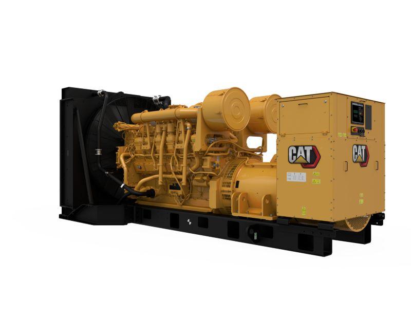 3512B  Diesel Generator Sets (Rear Left)