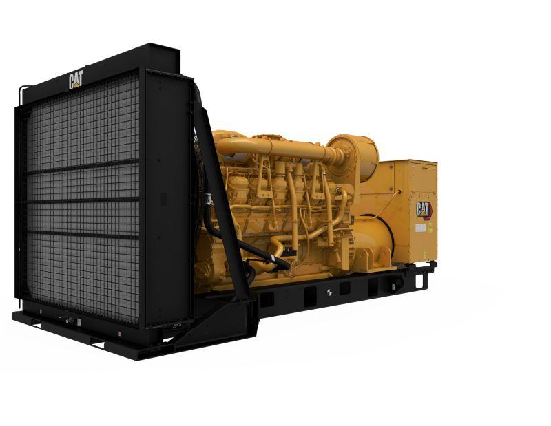 3512B Diesel Generator Sets (Front Left)