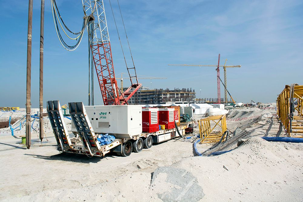Jubaili Bros and Perkins pump power to Dubai's Heart of Europe
