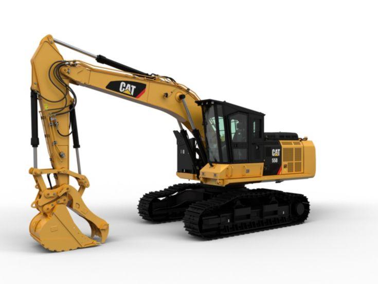 Pelles minières hydrauliques - 558