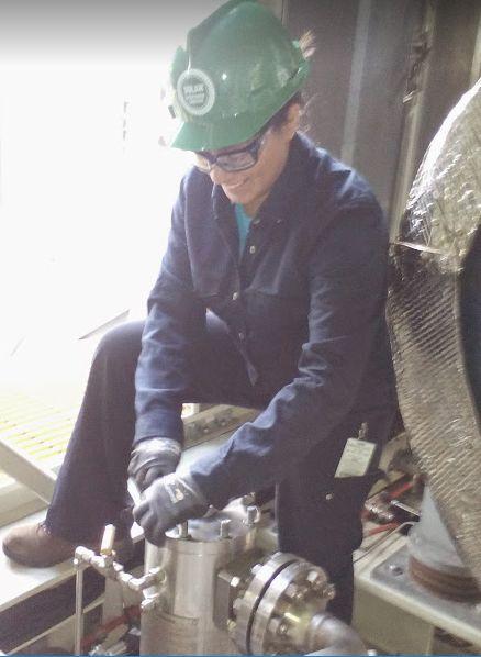 Alma M., Field Service Representative Solar Turbines