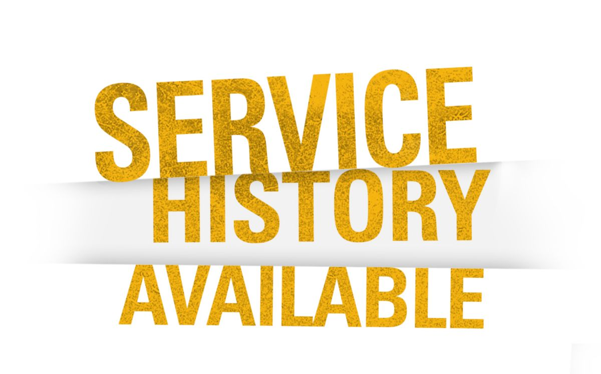 Service History Available