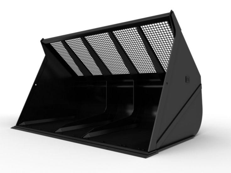 Buckets - Loader - 14 m³ (18.25 yd³), Fusion™, Bolt-On Cutting Edge