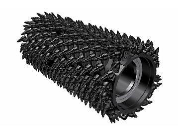 System K 2.2m Milling Drum (8mm spacing)