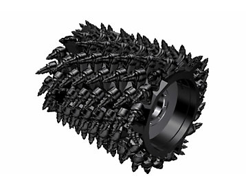 System K 1.0m Milling Drum (8mm spacing)