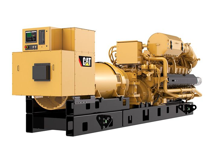 G3516H  Gas Generator Sets Rear Right View