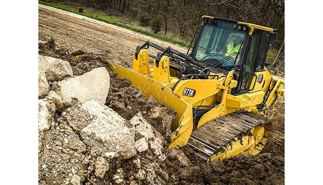 Cat 973K Track Loader - DO MORE WITH LESS FUEL
