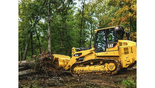 Cat 963K Track Loader - DO MORE WITH LESS FUEL