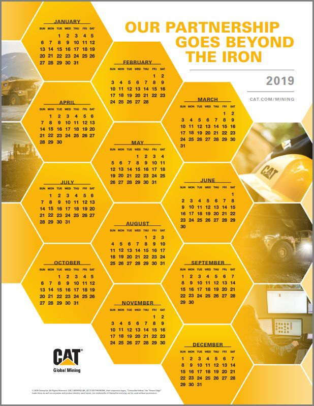 Global Mining Calendar