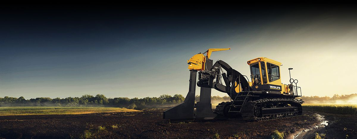 Wolfe Heavy Equipment Trenchers - Cat®  C15 and C18 Engines