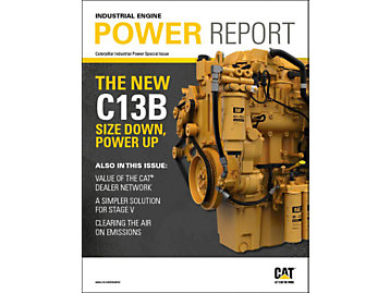 Power Report magazine cover