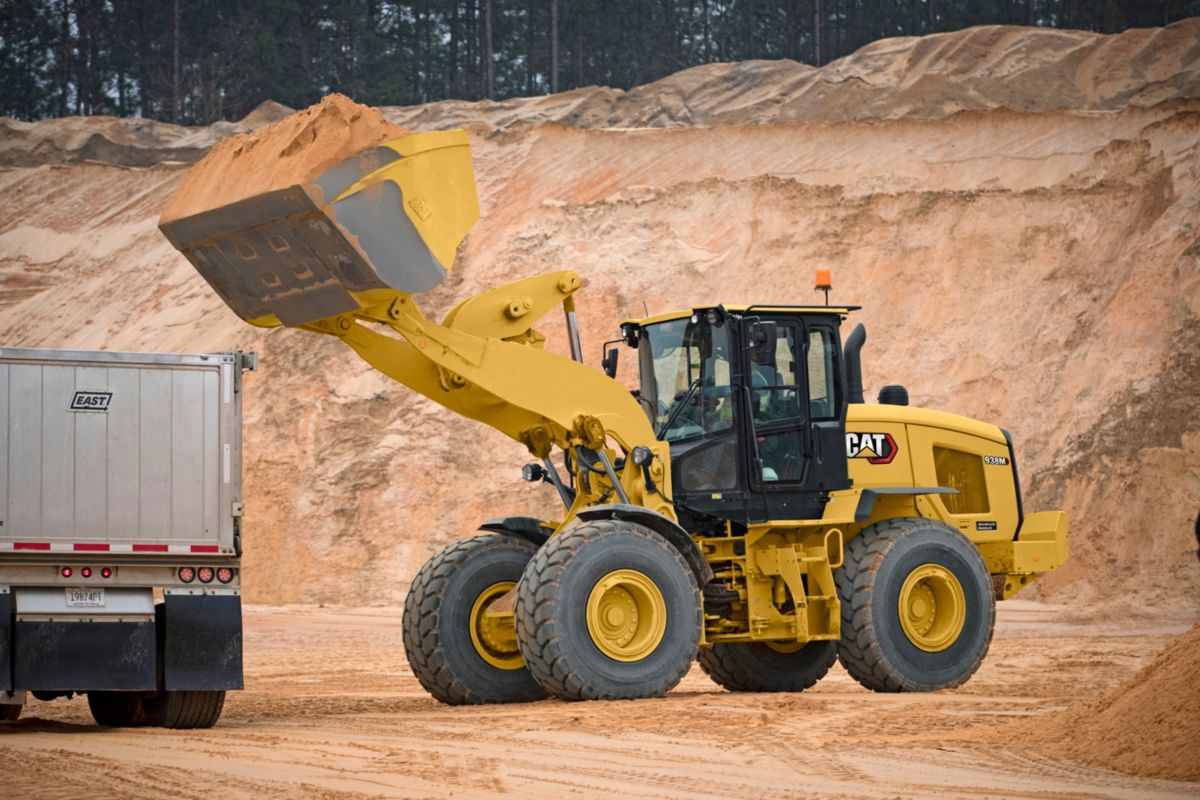 938M Aggregate Handler Small Wheel Loader>