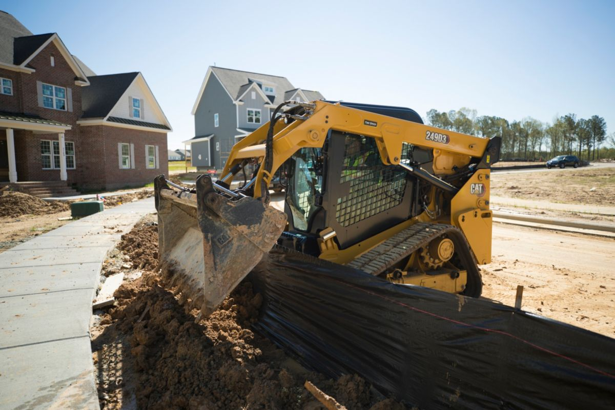 Cat® 249D3 Compact Track Loader>