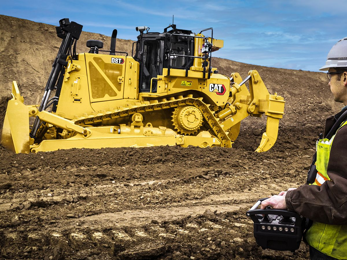 Cat D8T Dozer - TECHNOLOGY THAT GETS WORK DONE