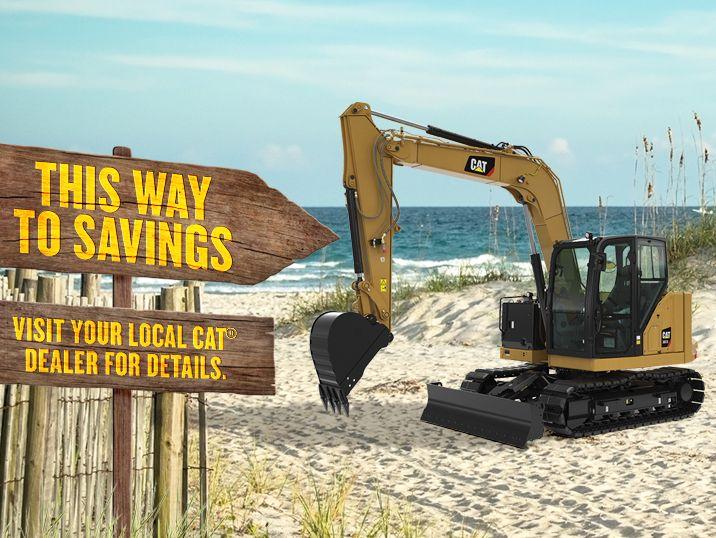 Cat | 307 5 Mini Excavator | Caterpillar