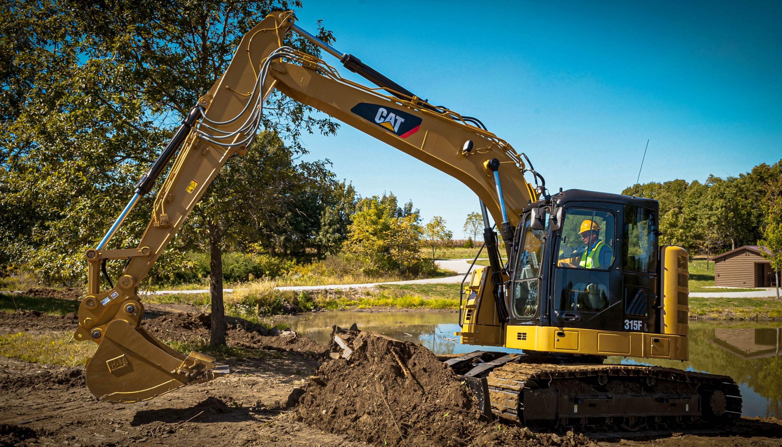 Cat | 315F Hydraulic Excavator | Caterpillar