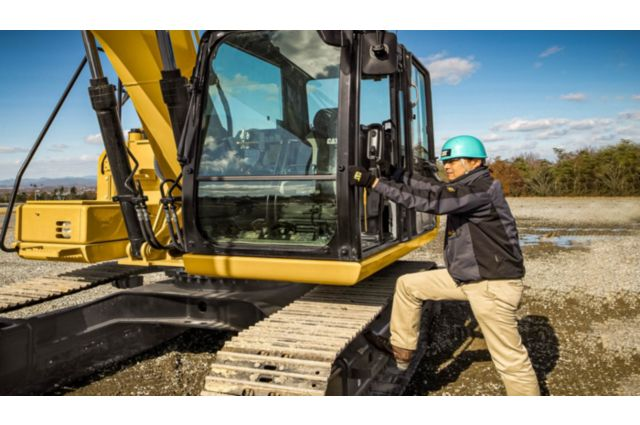 Cat 313F GC Excavator - BUILT-IN SAFETY FEATURES