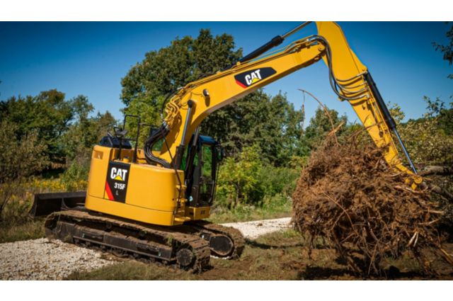 Cat 315F Excavator - EXPAND YOUR CAPABILITIES