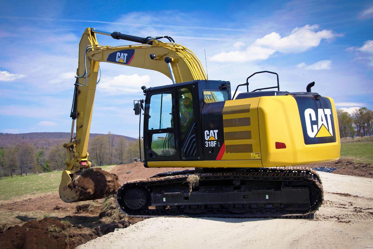 Cat 318F L Excavator