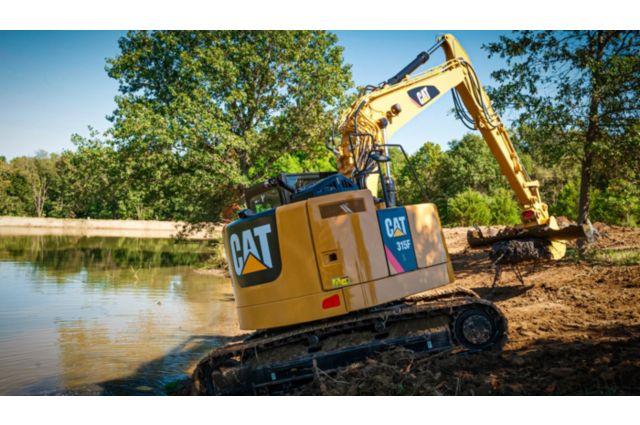 Cat 315F Excavator - PERFORMANCE AND PRODUCTIVITY