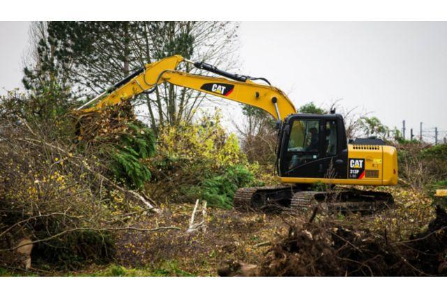 Cat 313F GC Excavator - PURPOSE-BUILT CAT ATTACHMENTS