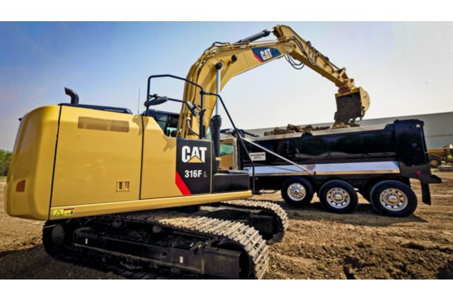Cat 316F L Excavator - EFFICIENCY AND PRODUCTIVITY