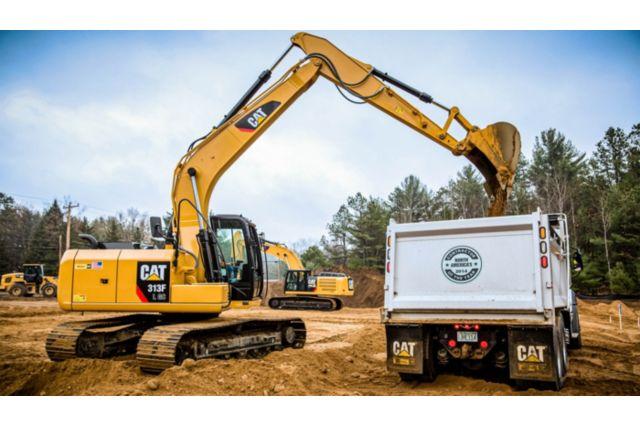Cat 313F GC Excavator - PERFORMANCE AND PRODUCTIVITY