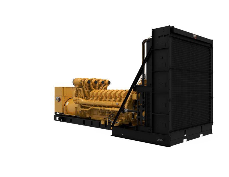 C175-16 Diesel Generator Set, Rear Left View