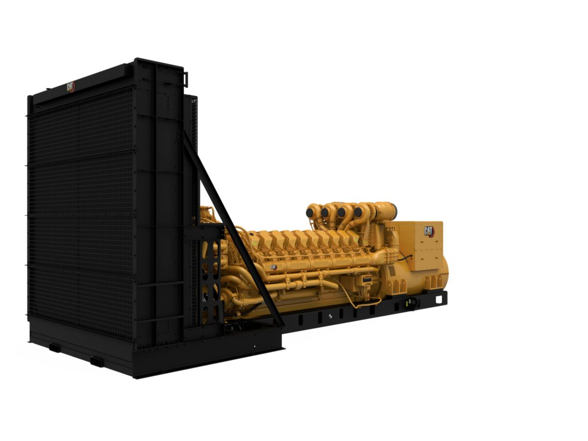 C175-20 Diesel Generator Set Left Front View>